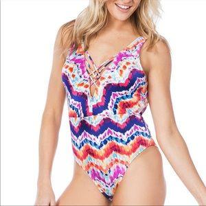 🎉5 for $25🎉  Hobie Tie Dye Swimsuit